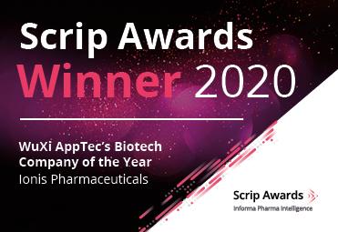 Scrip Awards 2020 Winner